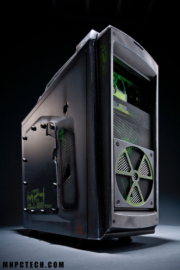 Mz 1 Quot Cooler Master Scout Quot Ghost Quot Gaming Pc Build With Mod
