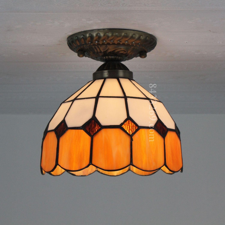 Grid Tiffany Lamp8S9-1AC1
