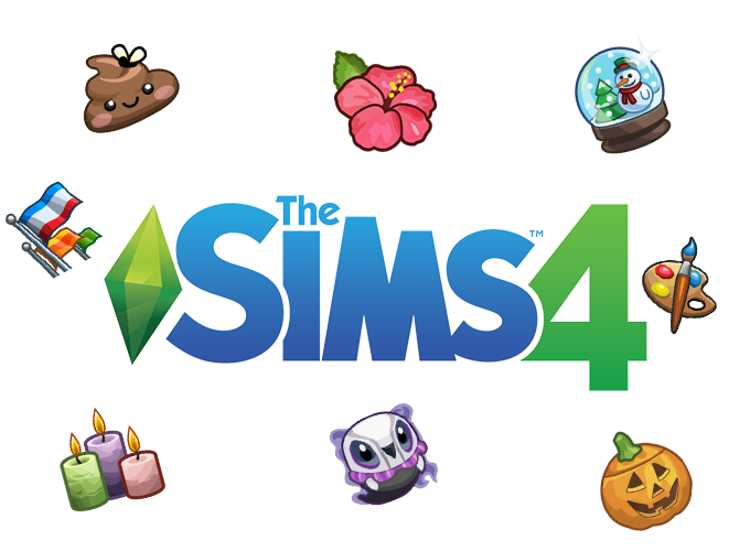 The Sims 4 1 000 Game Icons By L Universims Sims Game Icon Sims 4