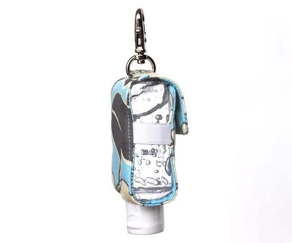 Hand Sanitizer Keychain Holder The Original พวงก ญแจ