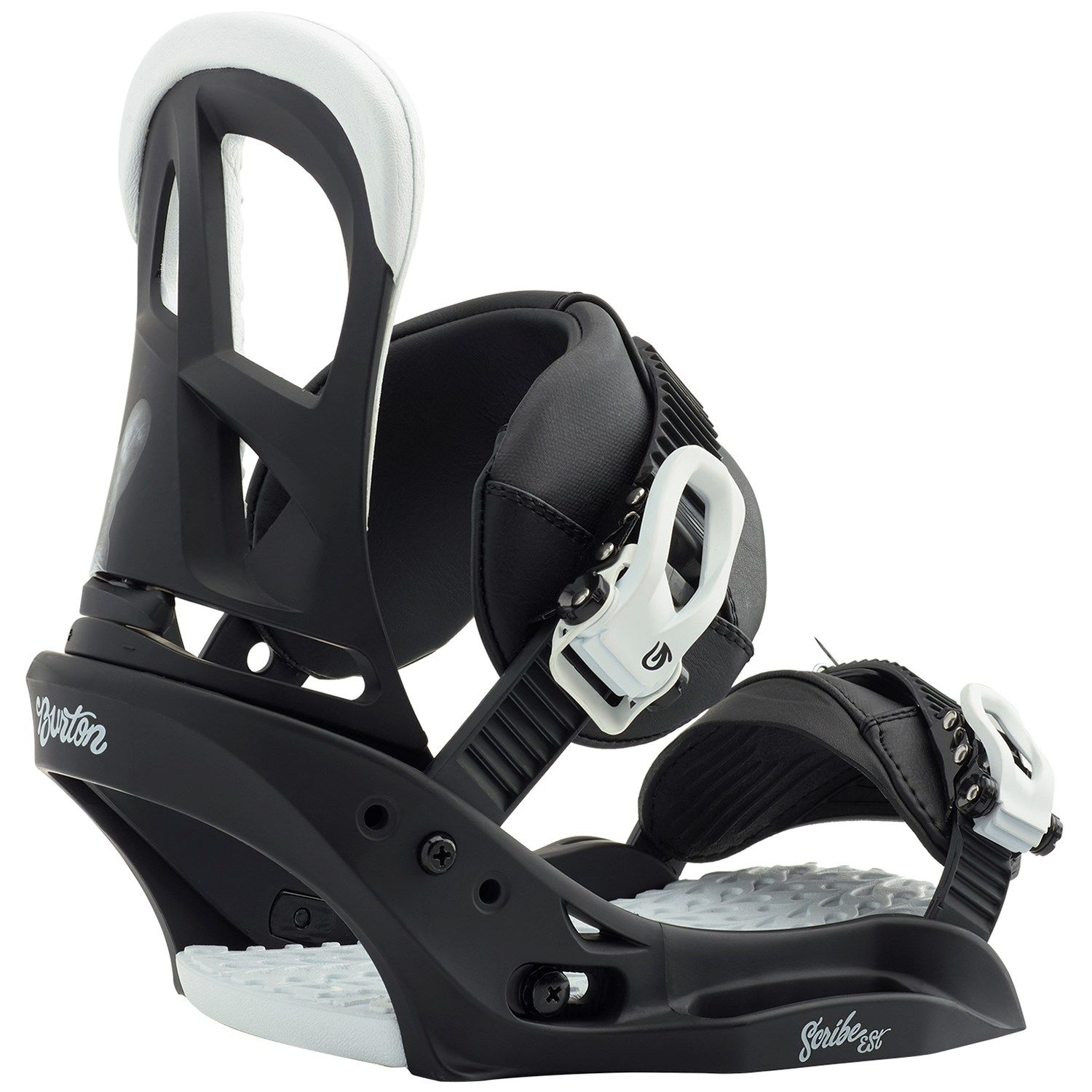 Women's Burton Scribe EST Snowboard Bindings 2019 - Medium in Black