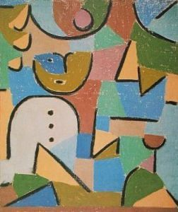 Figur Im Garten By Paul Klee Modern Art In 2019 Paul Klee Art