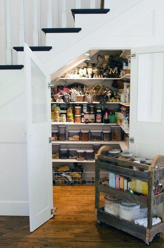 Under stairs pantry decoration ideas pinterest for Escaleras metalicas homecenter