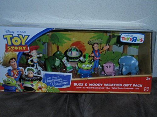 Toy Story Action Figures Set : Then toy story hawaiian vacation gorgeous body action figure