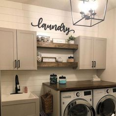 LAUNDRY WOODEN WALL SIGN | FARMHOUSE DECOR