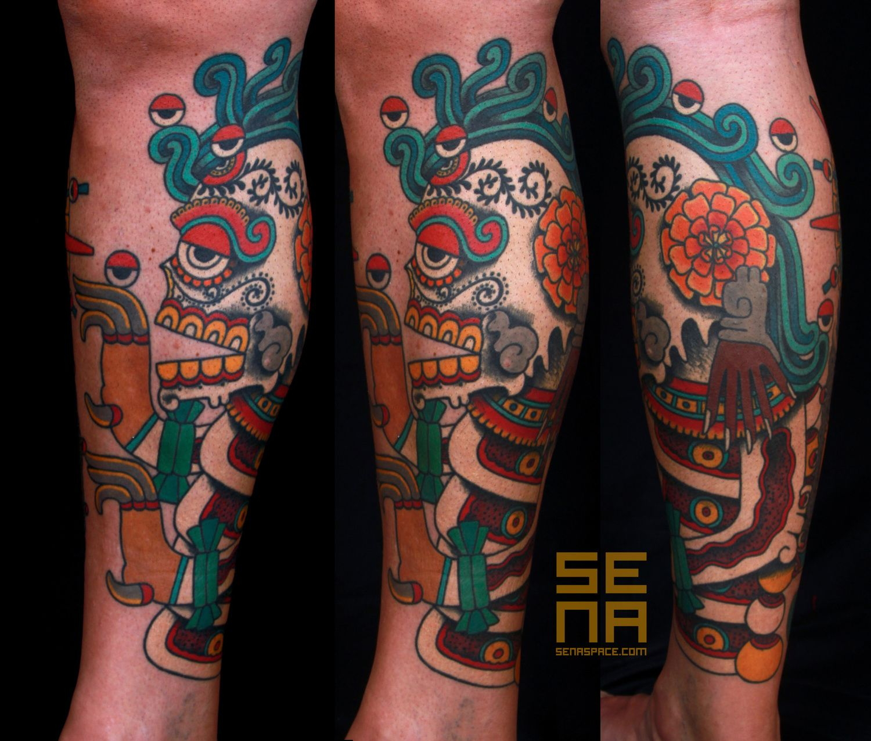 Aztec — Senaspace Art & Tattoo New york tattoo artists