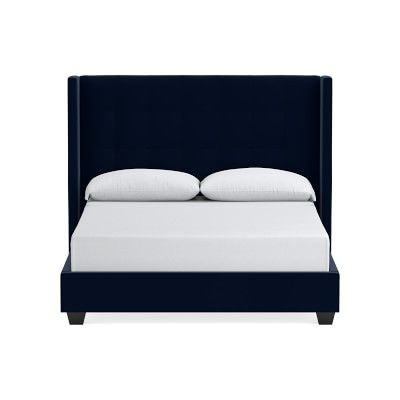 Gable Tall Wing Bed Headboard Headboards For Beds Bed