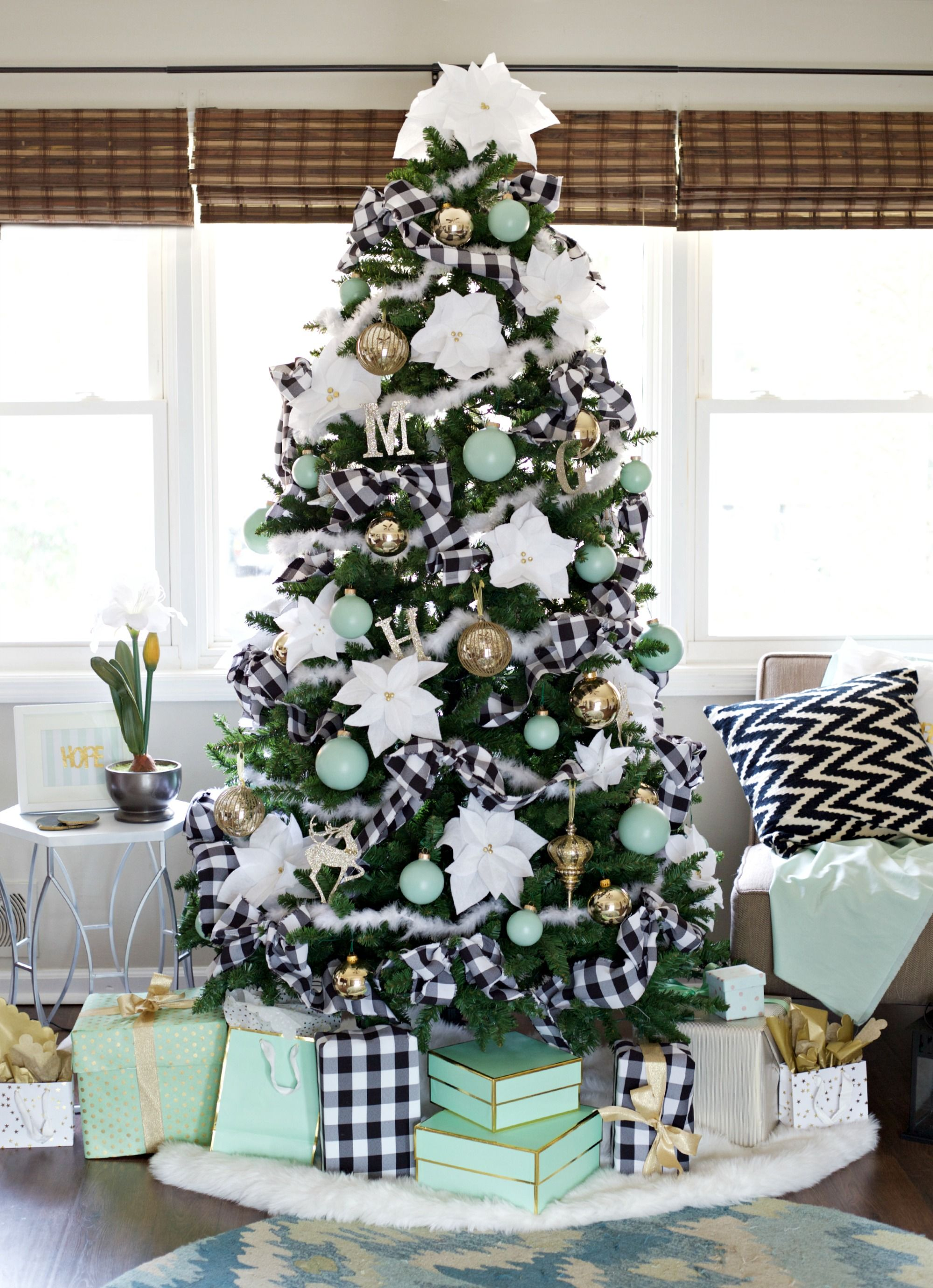 Christmas House Party Ideas Part - 46: Easy Christmas Decorating Ideas - Parties For PenniesParties For Pennies