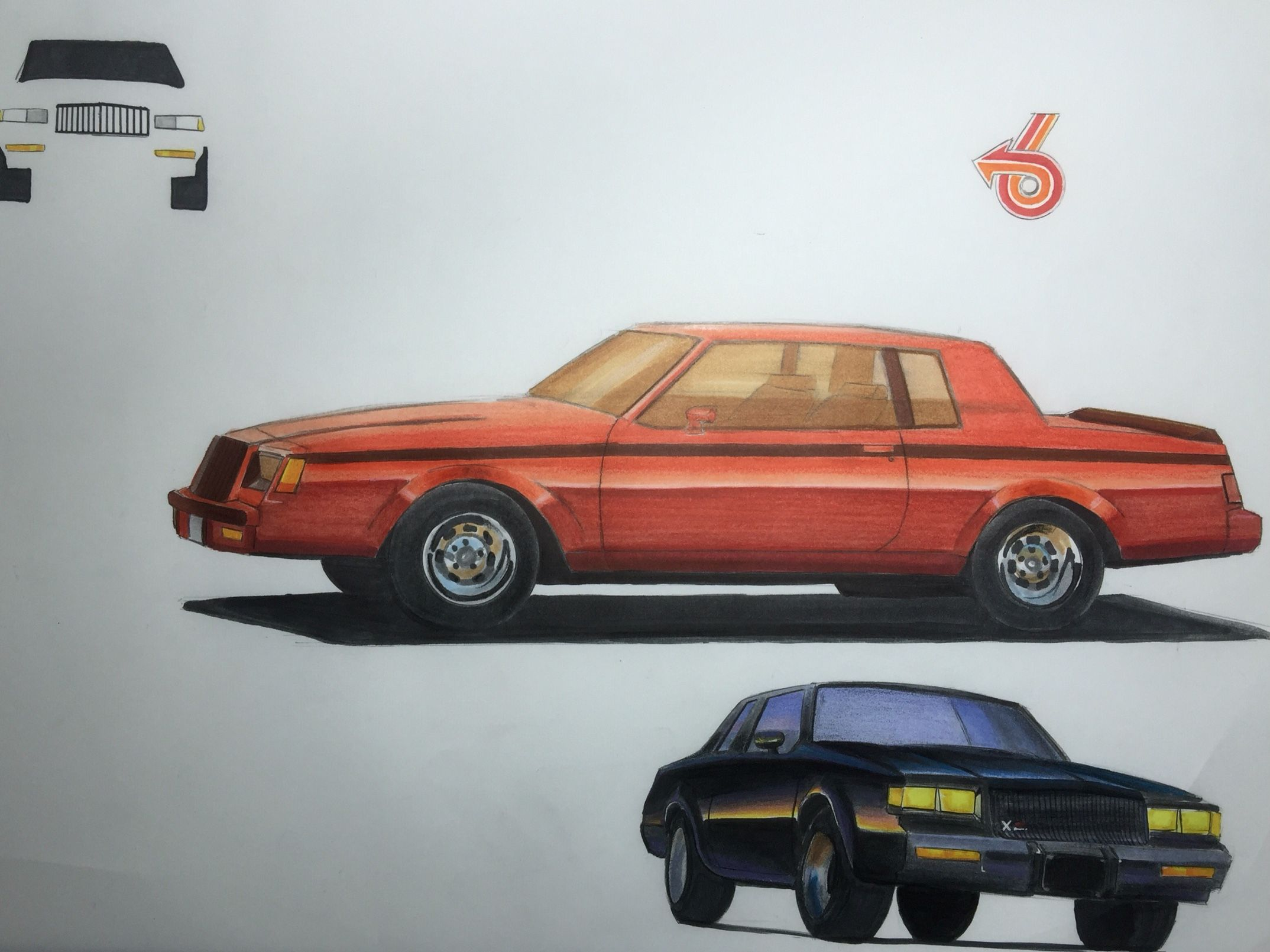 Transportation Design 3.  Buick Grand National GNX