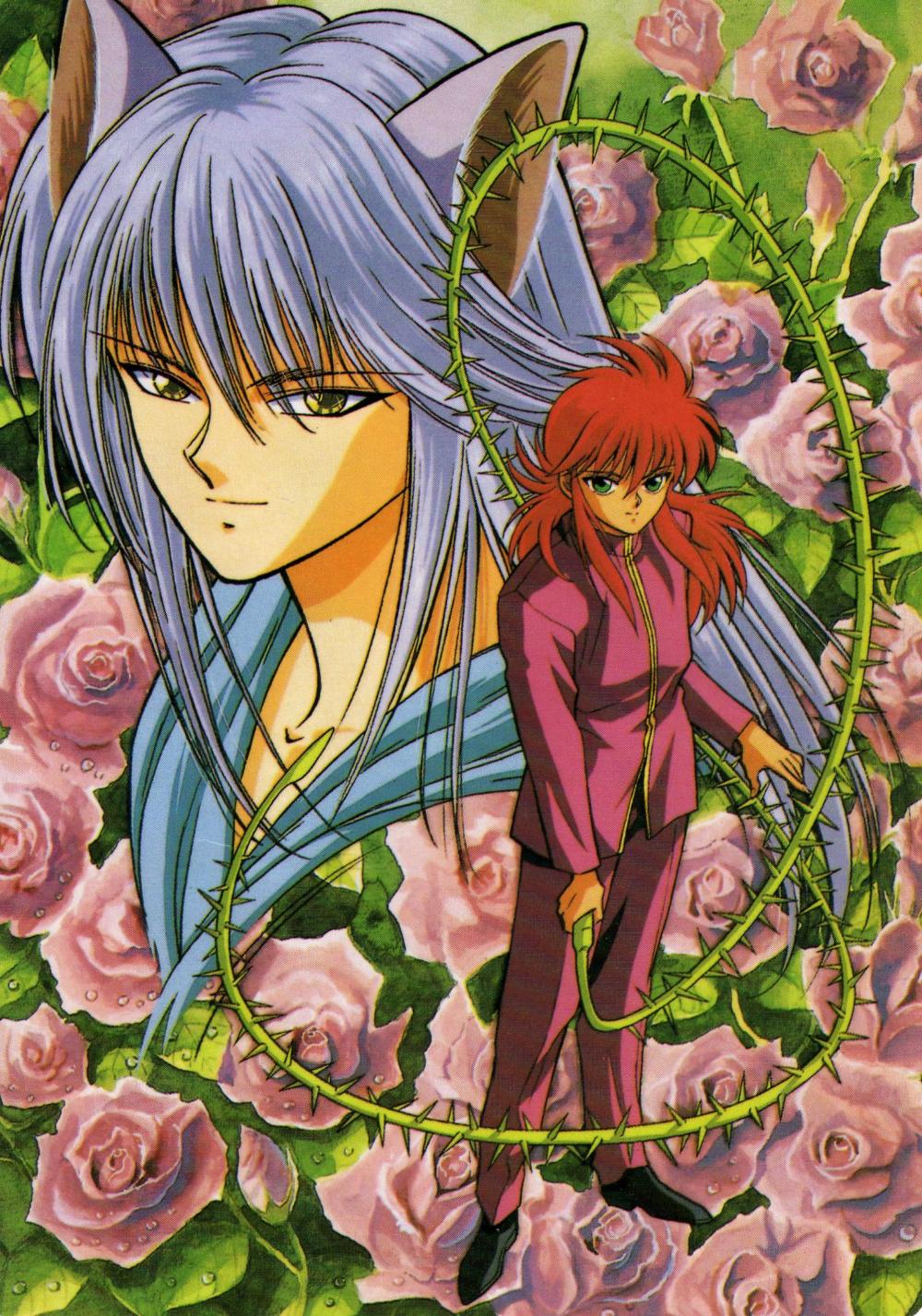Kurama Yu Yu Hakusho Mobile Wallpaper 32870