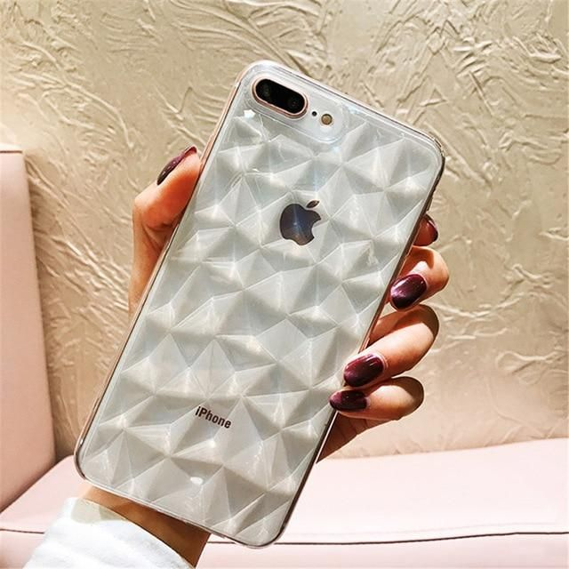 new product 31688 a1ac9 Diamond Texture Case For iPhone in 2019 | Phones Cases & Covers ...