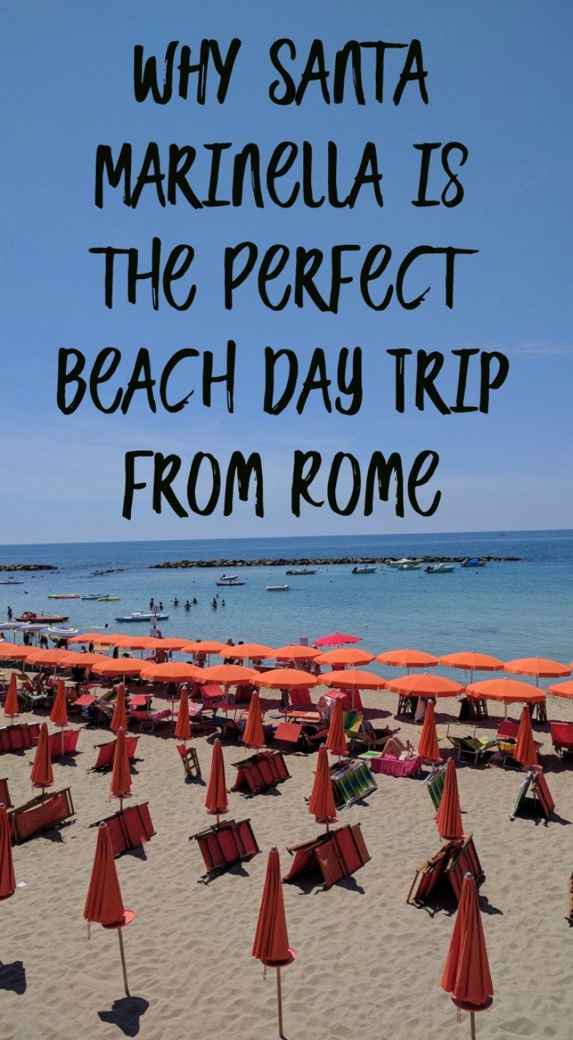 Santa Marinella The Perfect Day Trip To The Beach From Rome Italy