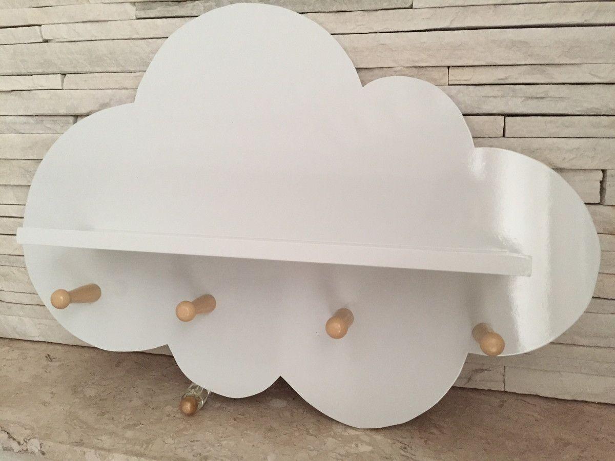 Prateleira Nuvem Pendurador Com Imagens Decoracao De Nuvens