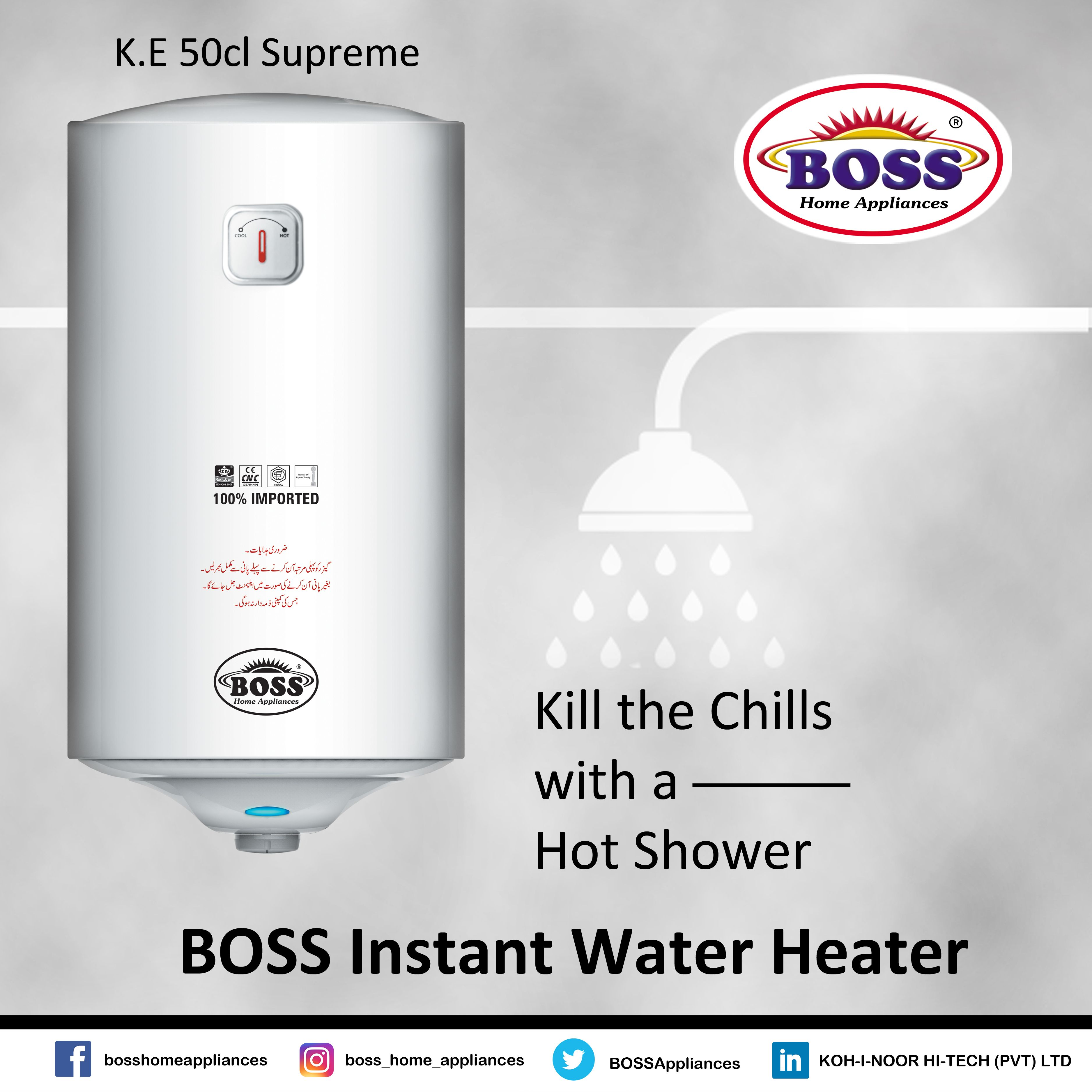 Pin By Boss Home Appliances On Products Instant Water Heater Home Appliances Water Heater