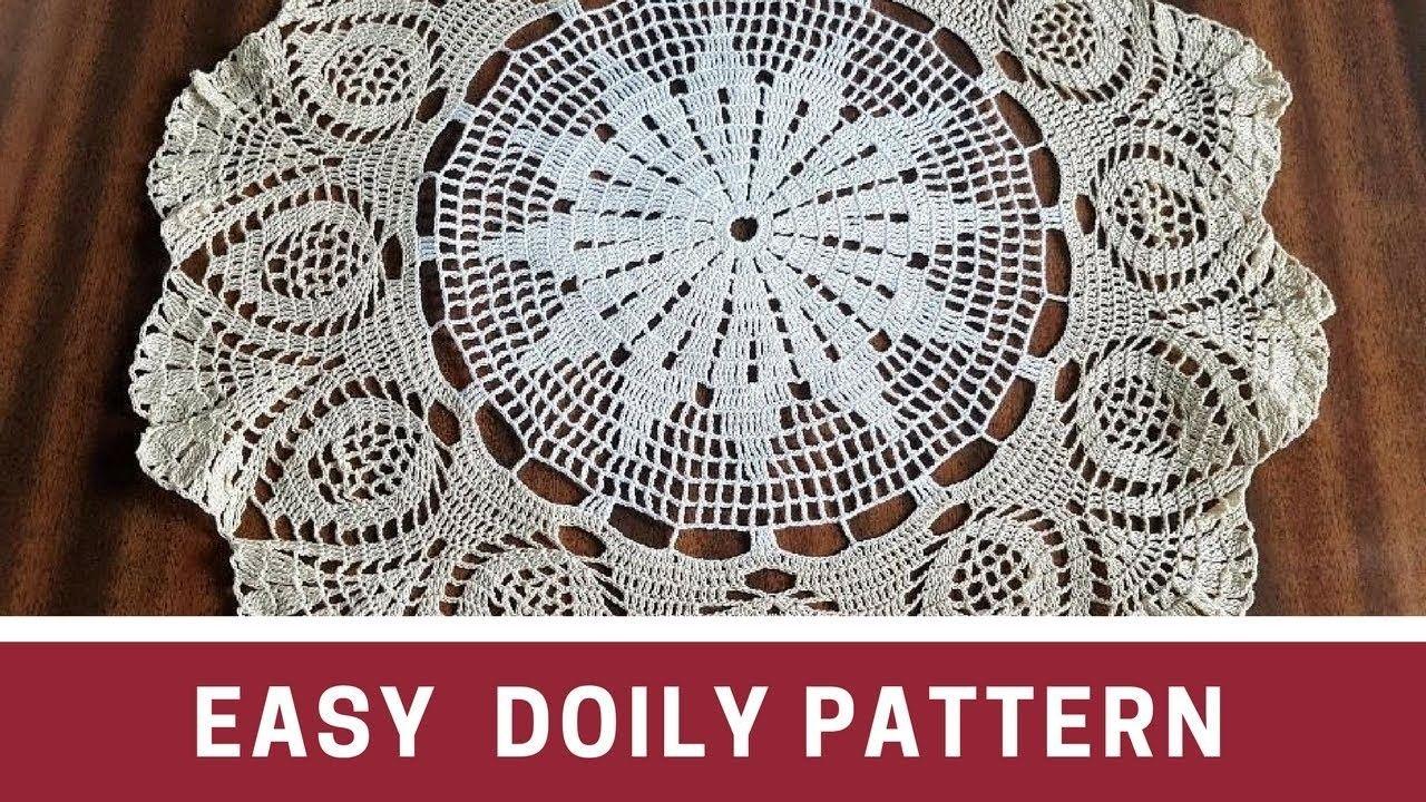 Easy Crochet Doily Pattern Schema Crochet Doily Patterns Easy