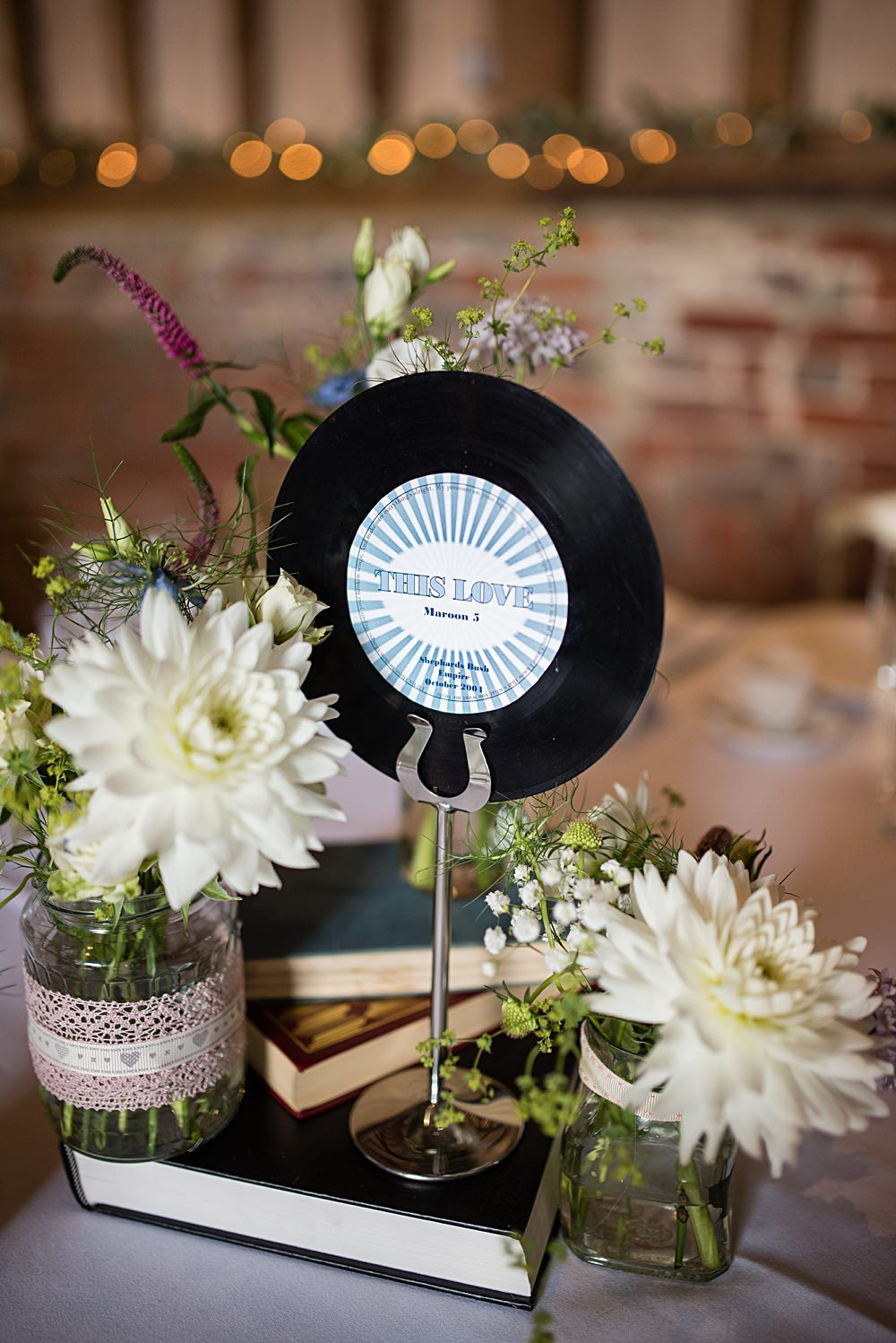 Vinyl Wedding Inspiration In Honor Of Record Store Day Wedding
