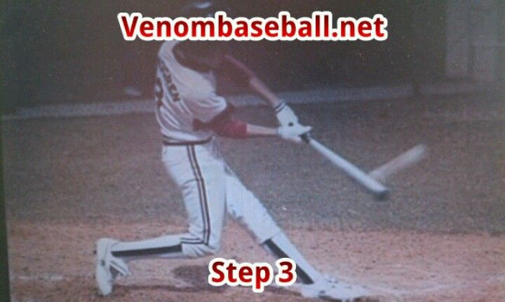 Here is one of my students who is currently in step 3. Compare his step 3 with Albert Pujols and Bryce Harper's step 3.  What we teach is how 90% of all Major Leaguers swing so don't get left behind. If you are interested in private lessons, go to www.venombaseball.net.