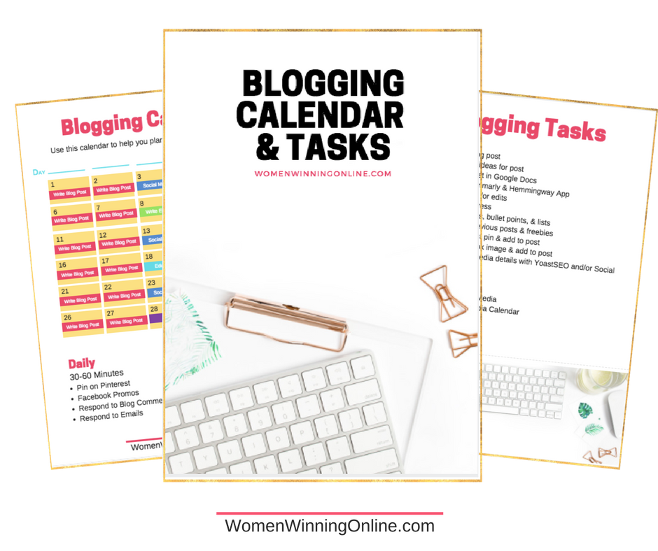 how to grow your blog into a profitable online business blogging