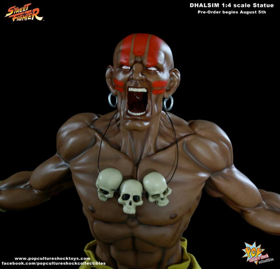 Pop Culture Shock Dhalsim Street Fighter Statue Pre Orders Start On