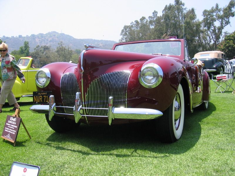 Lincoln Zephyr V-12