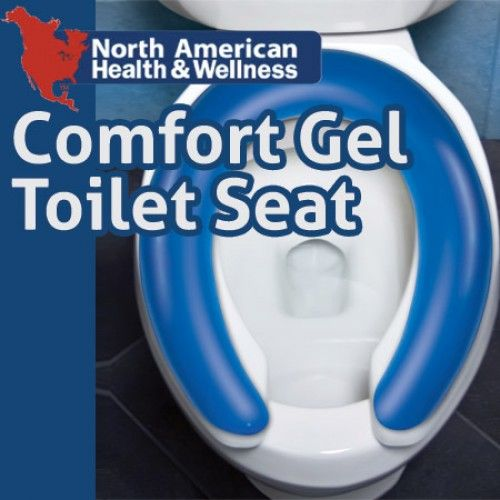 Stupendous Comfort Gel Toilet Cushion Something To Ponder On Pdpeps Interior Chair Design Pdpepsorg