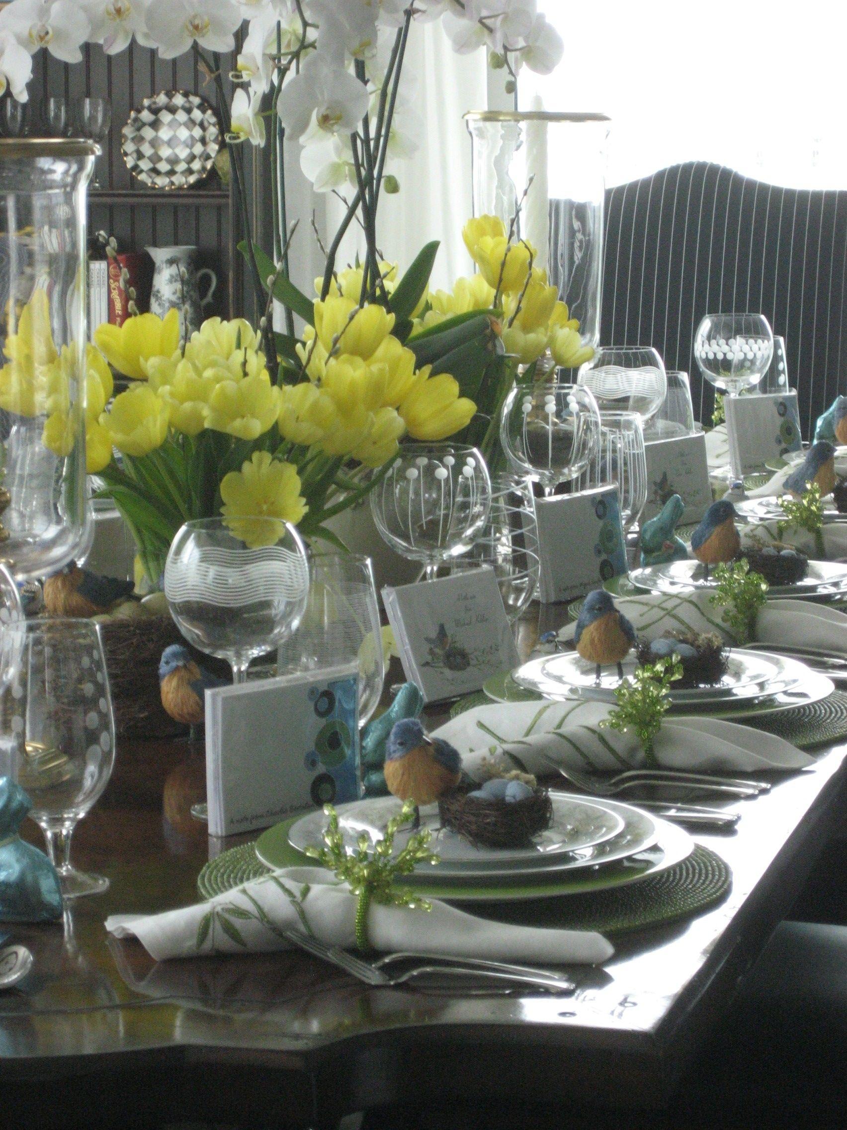 Easter Table Decor & Easter Table Decor | Table Decor | Pinterest | Easter table Easter ...