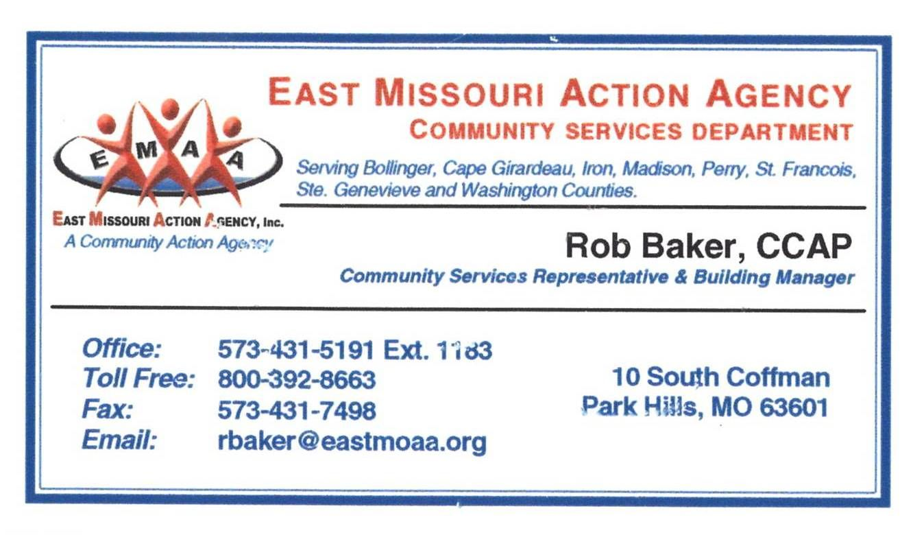 East Missouri Action Agency Certified Application Counselor