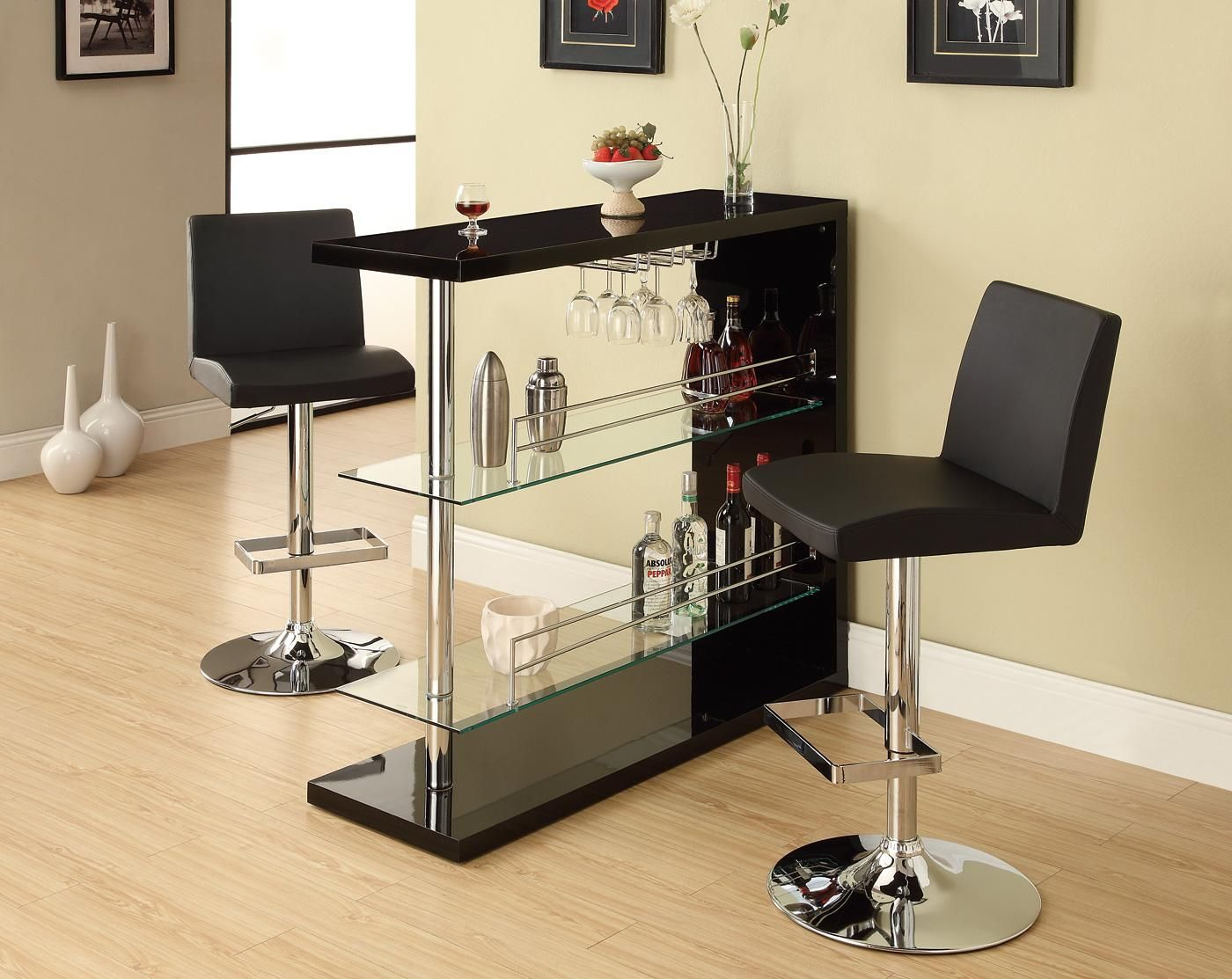 Contemporary Home Bars - Home Bars Cheap - 3 Piece Bar Set - LaPorta ...