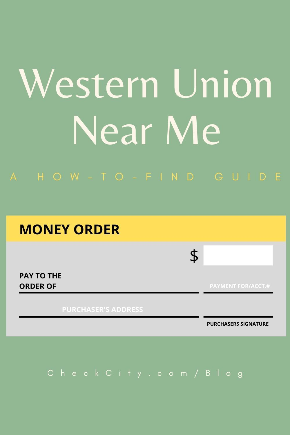 Western Union Near Me A How To Find Guide Make More Money Money Transfer Money Order