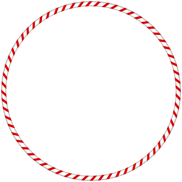 Christmas Png Candy Cane Spearmint Round Border Frame Christmas Frames Candy Cane Round Border