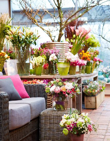 deko und accessoires im kupfer look hamburg and flower shops. Black Bedroom Furniture Sets. Home Design Ideas