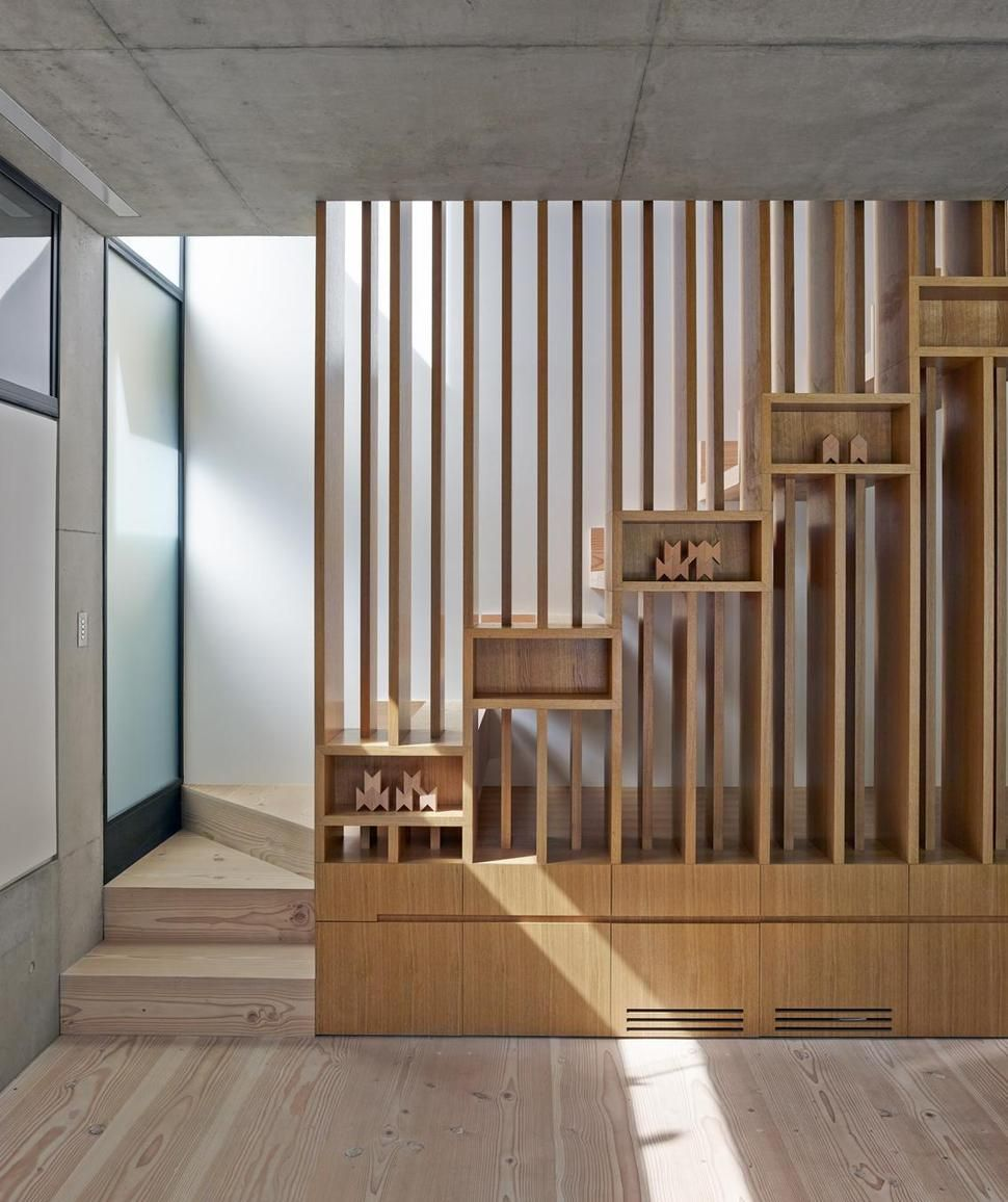 house interesting wooden staircase design child hideout 8 stairsjpg House with Interesting Wooden Staircase Design