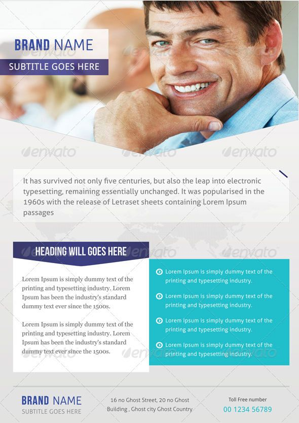 Corporate Flyer – Professional Corporate Flyer