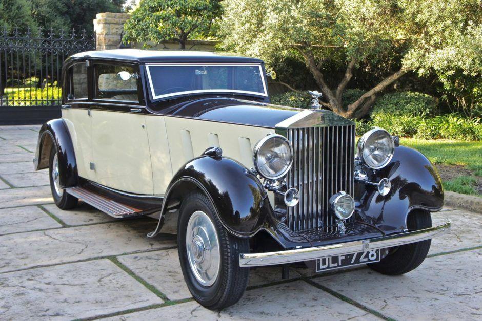 1936 RollsRoyce Phantom III Sports Saloon by Barker