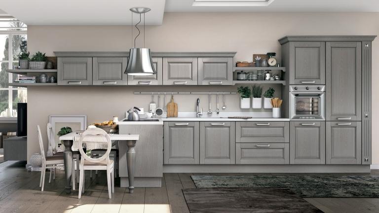 Cucina classica bianca 04 | Cucine | Pinterest