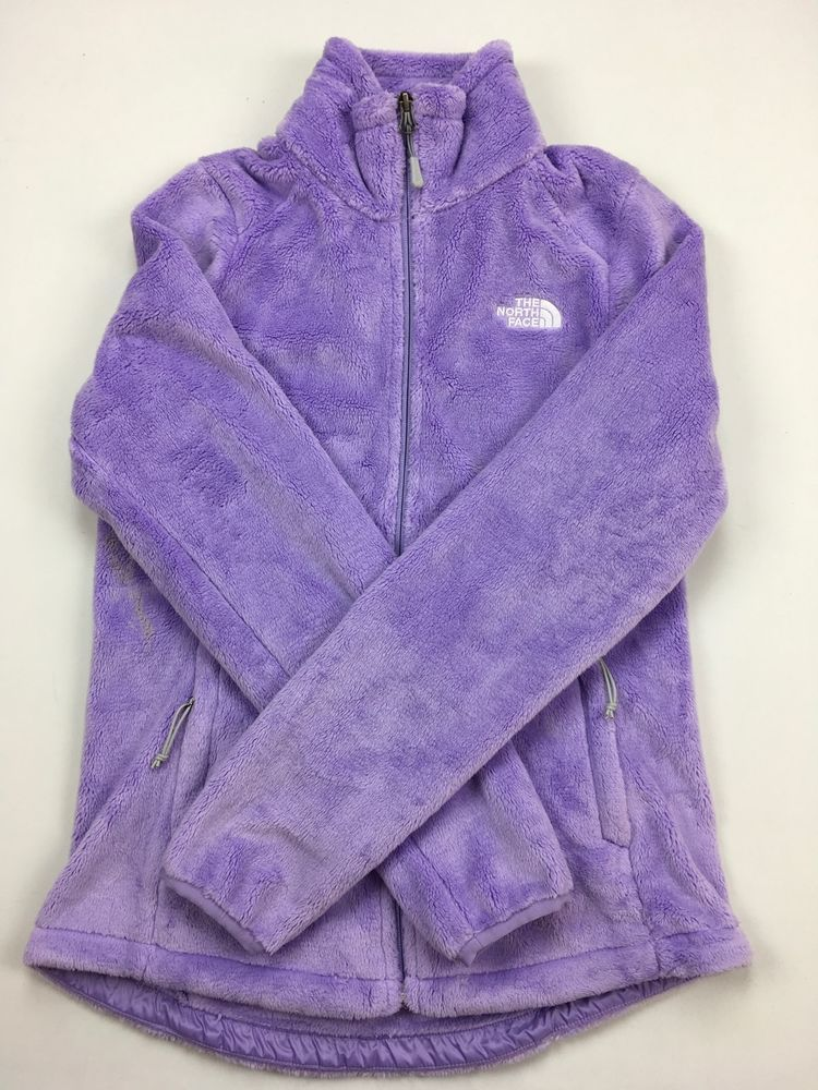 1d098a9043 NEW Women s THE NORTH FACE Osito 2 Fleece Jacket Zip Coat Lavender Purple S   TheNorthFace  FleeceJacket