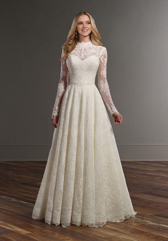 Martina Liana Carter+Jude+Sander A-Line Wedding Dress