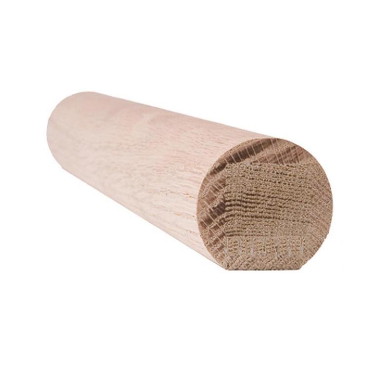 Best 6040 Wall Rail Wood Handrail – Red Oak Wood Handrail 400 x 300