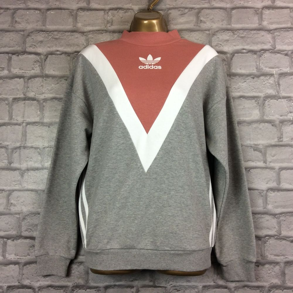 Predownload: Pink Grey Chevron Sweatshirt Jumper You Are Looking At A Ladies Pink And Grey Chevon Sweatshirt Jumper Fromadidas We Hav Sweatshirts Clothes Design Clothes [ 1000 x 1000 Pixel ]