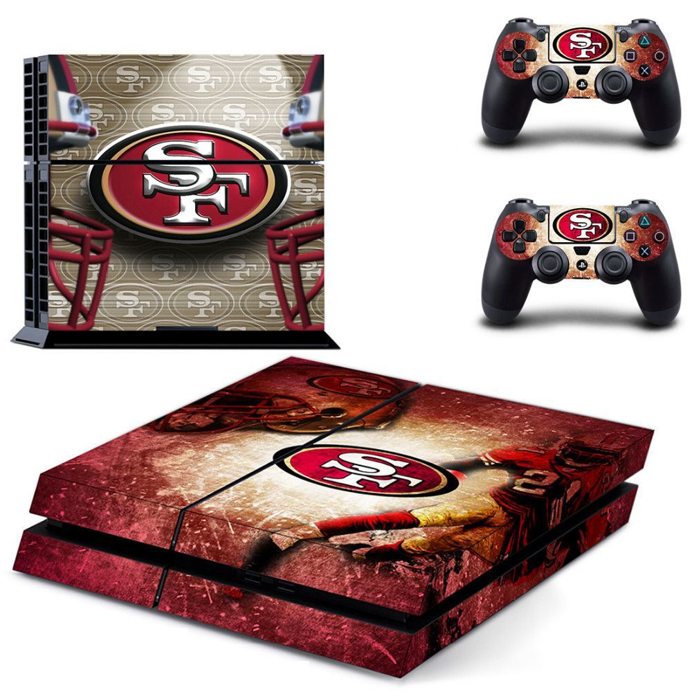 San Francisco 49ers Nfl Ps4 Skin Ps4 Skins Ps4 Skins Stickers Ps4 Skins Decals
