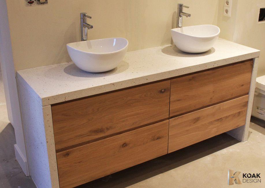 Ikea Badezimmermöbel ~ Koakdesign fronten en tablet op godmorgon kast van ikea badkamer