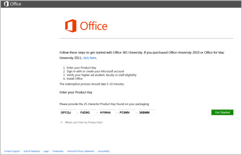 office 365 product key activator