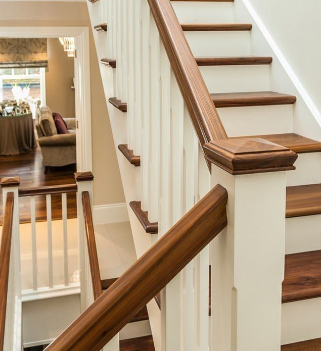 Best Bespoke Wooden Stairs Stair Parts Uk Staircase Design 400 x 300