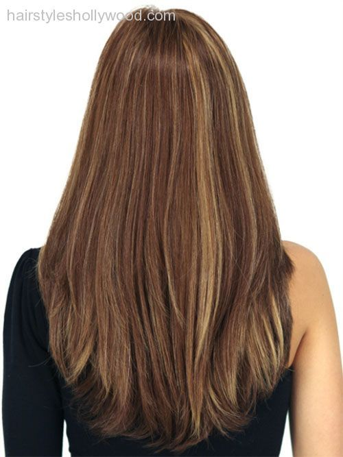 Long Straight Hair With Short Layers Back View Google Search Long Layered Hair Medium Hair Styles Long Layered Haircuts