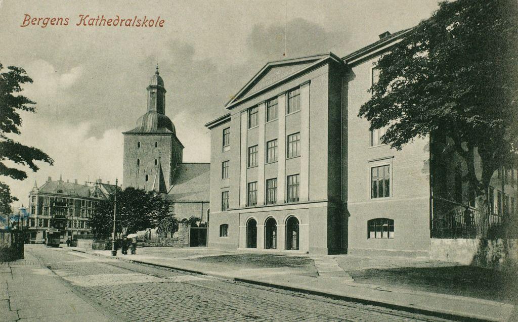 Bergens Kathedralskole fra marcus.uib.no