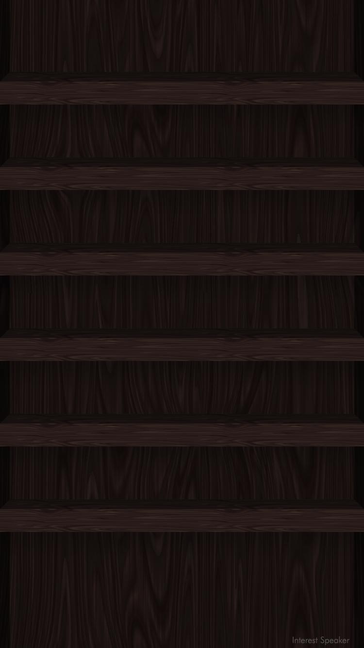 Iphone6 Home Wallpaper Wood Dark Png 750 1 334ピクセル Wood Wallpaper Home Wallpaper Abstract Iphone Wallpaper