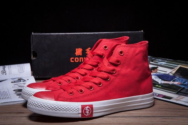 Cheap To Buy CONVERSE American Idiot Green Day Black Red All Star High Ps Canvas Bosey Boot