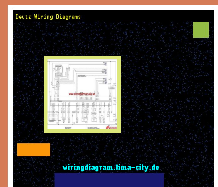 Deutz Wiring Diagrams Wiring Diagram 185532 Amazing Wiring Diagram Collection