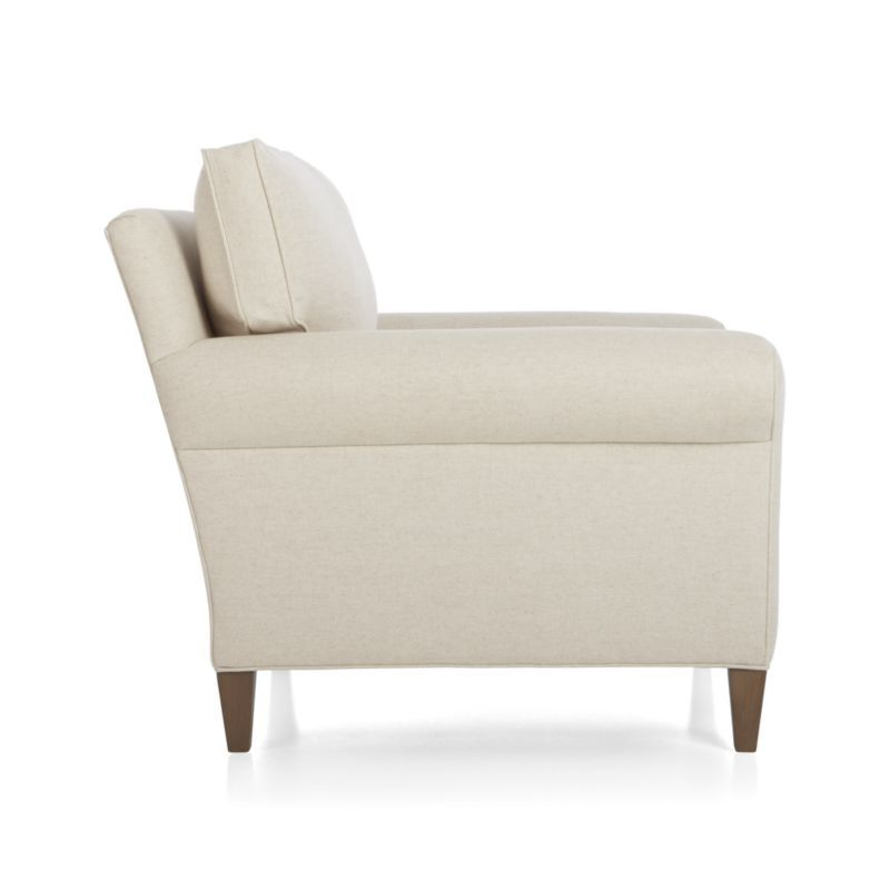 Montclair Chair Crate And Barrel Rolled Arm Chair Sofa