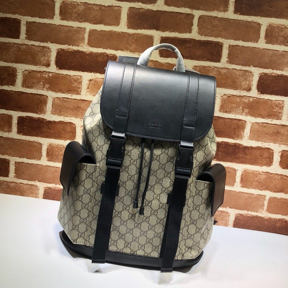 1c841ce524bf Gucci Soft GG Supreme backpack 450958 | Luxury Backpacks in 2019 ...